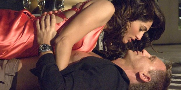 Caterina Murino and Daniel Craig star in Casino Royale together. Photo / Jay Maidment