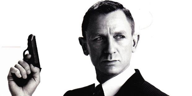 Daniel Craig as James Bond. Photo / Supplied