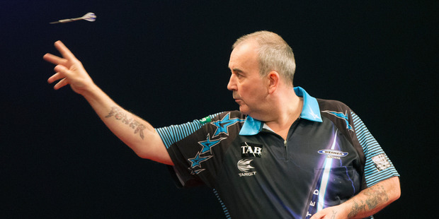 Phil Taylor. Photo by Nick Reed