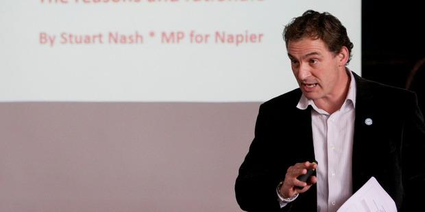 Stuart Nash, Labour MP. Photo / Paul Taylor
