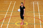 Actions speak louder than words for Otane netball defender Briar Chalmers. Photo / Paul Taylor