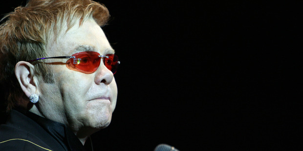 Elton John: 'Hold me closer, Tony Danza.'