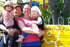 Carterton Playcentre building and grants officer Leah Wynne (right) is running for council. PHOTO/FILE