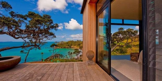 Award-winning Fraser House at Moureeses Bay, Northland. Photo / Supplied