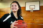 LOVING IT: Rosalia Samia, 15, loves the physicality and competitive edge basketball offers compared with the family tradition of playing volleyball where a net keeps teams apart. PHOTO/Warren Buckland