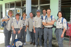 Orthopaedic surgeon Vaughan Poutawera of Tauranga on a mission with the NZ Medical Assistance team in Suva, Fiji in March. Photo/supplied