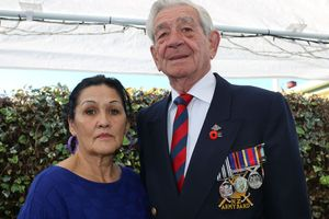 "Alva and Danny Linton, from Masterton, say the Wairarapa Services and Citizens Club turned a blind eye to ""disgusting"" behaviour by drunk uniformed soldiers on Anzac Day. PHOTO/HAYLEY GASTMEIER"