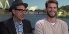 Watch: Watch: Liam Hemsworth & Jeff Goldblum talk Independence Day: Resurgence