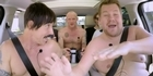 Watch: Watch: Chili Peppers strip off for Corden's Carpool Karaoke