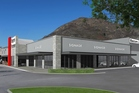 An artist's impression of the redeveloped Queenstown building to be occupied by Harvey Norman.