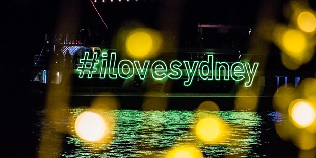 Loading A crowd favourite from Vivid Sydney is Cathedral of Light. Photo / Destination NSW
