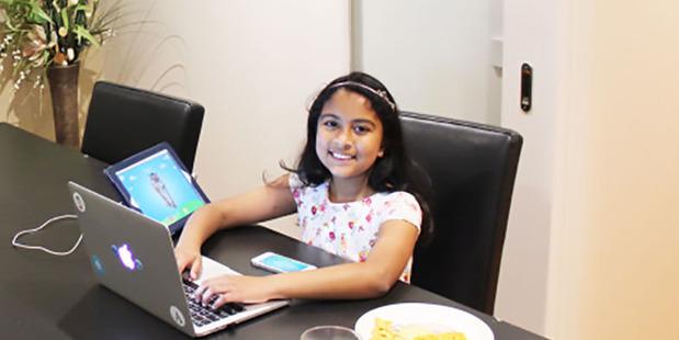Melbourne schoolgirl Anvitha Vijay.