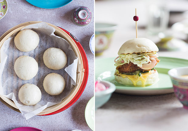 Making bao buns. Photo / Bite magazine