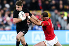 Beauden Barrett put in a strong performance at first-five in the second half. Photo / Getty