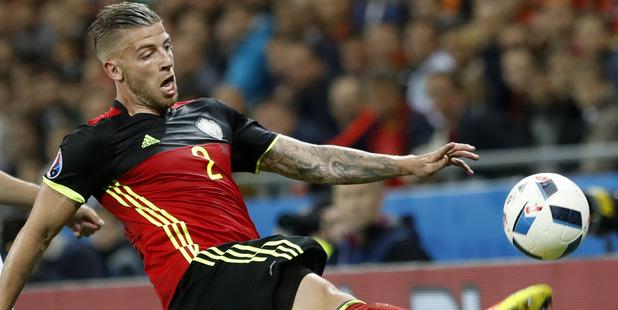 Belgium's Toby Alderweireld. Photo / AP