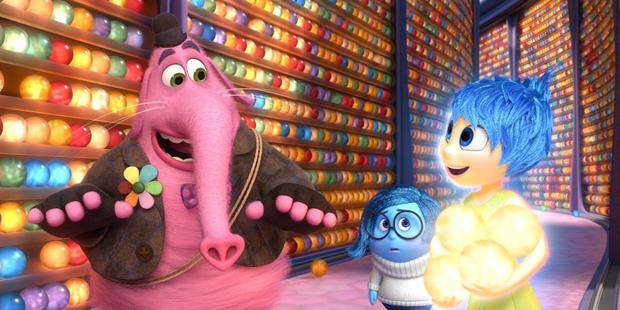 A scene from the Disney Pixar movie, Inside Out.