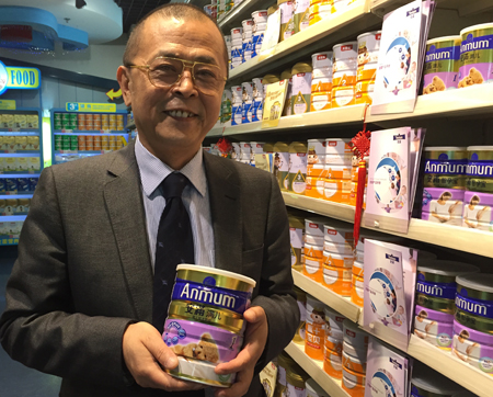 Beingmate vice-chairman Chen Huixiang says New Zealand needs to do more to promote its expertise in dairy processing. Photo / Christopher Adams