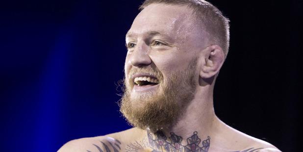 UFC featherweight champion Conor McGregor. Photo / Las Vegas Sun via AP