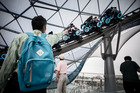 All systems are go for the June 16 opening of the $5.5b Disney Shanghai Resort. But if history is a guide, the opening could be as turbulent as the twists and turns on Big Thunder Mountain. Photo / Bloomberg