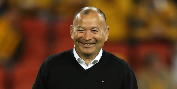 England head coach Eddie Jones, looks on during the tTest match between the Wallabies and England. Photo / Getty