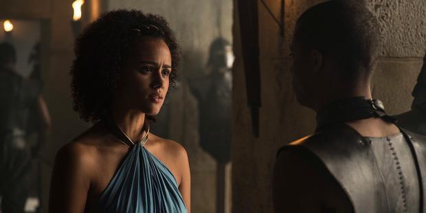 Nathalie Emmanuel plays Missandei in Game of Thrones.