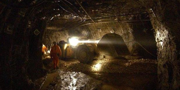 Mining workers spend 12-hour shifts underground. Photo / Scott Radford-Chisholm, News Corp Australia