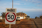 More than 100 people are stuck at Marree in South Australia. Photo / iStock
