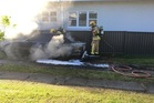 Firefighters have been called to reports of mulitple cars on fire in Otumoetai, Tauranga. Photo/file