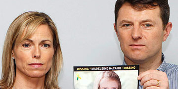 Loading Kate, right, and Gerry McCann, left, the parents of Madeleine McCann. Photo / Supplied