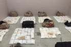 Part of the $448m meth haul discovered by police in Northland.