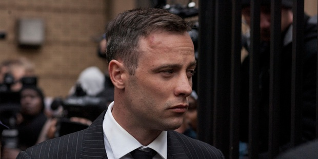 Loading Oscar Pistorius leaves the North Gauteng High Court after the finish of his first of sentencing on June 13. Photo / Getty