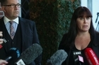 Teina Pora's lawyers, Jonathan Kerbs and Ingrid Squire talk to the media about the recent offer of compensation of $2.5 million dollars.