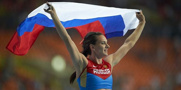 "Yelena Isinbayeva will bid to show the IAAF's ruling is in ""violation of her human rights"". Photo / Getty Images"