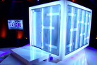 Sex Box, in which couples make love in this cube in front of a live TV audience, is coming to TV2 next month.