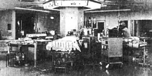 The chamber used in the sleep experiment.