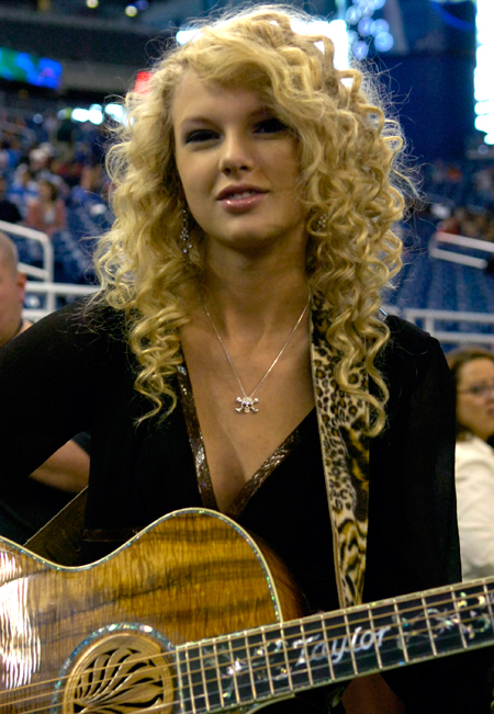 Taylor Swift in 2006, when she first became famous. Photo / Getty Images