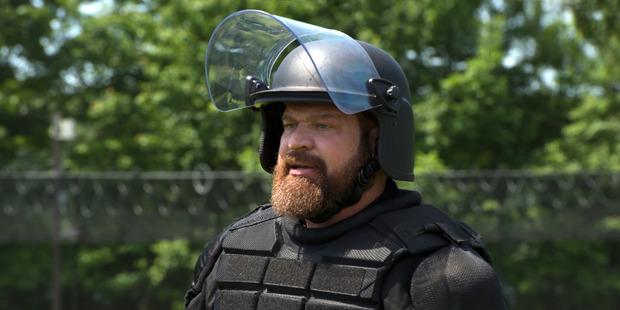 Brad William Henke as Desi Piscatella. Photo / Netflix