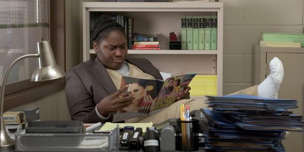 Danielle Brooks as Tasha 'Taystee' Jefferson. Photo / Netflix