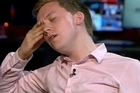 Journalist Owen Jones storms off live television set during a discussion about the Orlando massacre motives and whether it was an attack on LGBT people. Source: Sky News