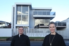 MAJOR DRAWCARD: Eves real estate agents Charlotte Gardner and Dirk Merwe sold 158 Oceanbeach Rd at Mount Maunganui for $5.65 million and say the property had attracted strong interest.PHOTOS/JOHN BORREN AND ALEX PORTEOUS - OPEN2VIEW