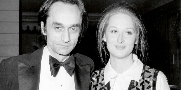 John Cazale and Meryl Streep, circa 1977. Photo / Photofest