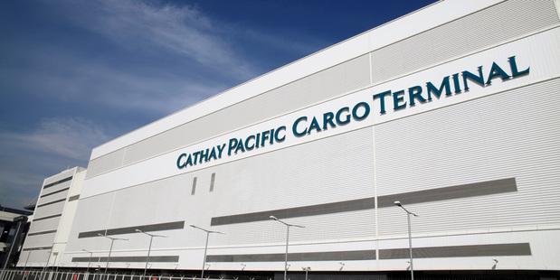 Cathay Pacific Cargo Terminal at Hong Kong International Airport.