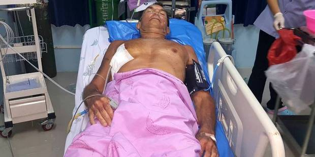 Loading Christopher George Smith, 52, was walking on Kata Beach on Phuket Island when he was stabbed about 6pm (11pm NZT) on Monday. Photo / Supplied