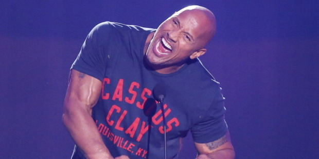 Dwayne 'The Rock' Johnson. Photo / Getty