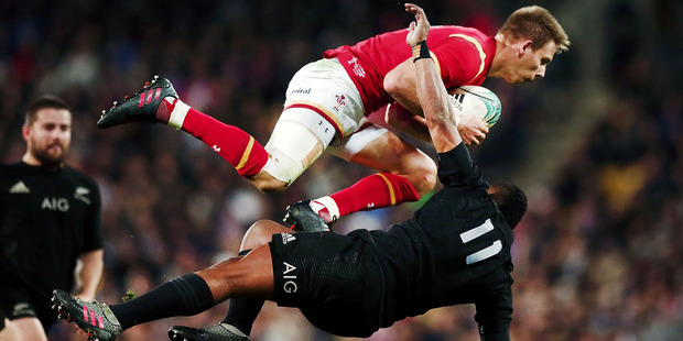 Waisake Naholo's lack of respect for the rules could be costly. Photo / Getty