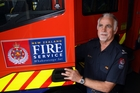 Station officer Ian Lilburn has been a volunteer at Bay View volunteer fire brigade for 25 years. Photo / Paul Taylor