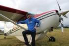 Mit Brereton flew his Cessna 185 from Takaka to Dannevirke on Sunday. Photo / Christine McKay
