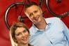 Rotorua X's deputy chairwoman Anna Grayling and chairman Darren McGarvie.