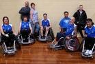 The BOP Steamrollers wheelchair rugby team.