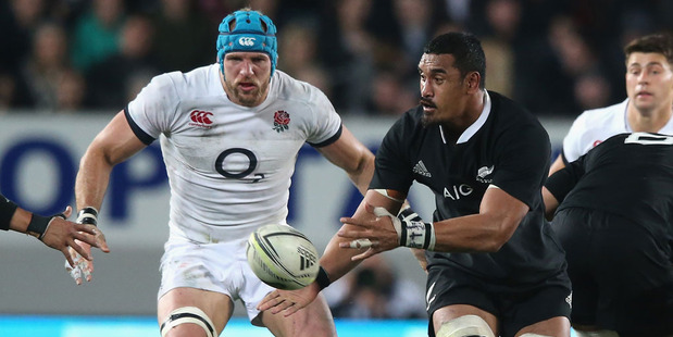 Jerome Kaino of the All Blacks and James Haskell of England would both make Wynne Gray's composite XV. Photo / Getty Images.
